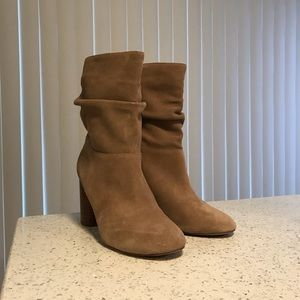 Slouchy ankle booties from Sole Society